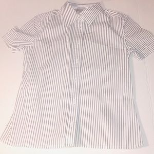 Authentic Prada Strip Button Top Shirt